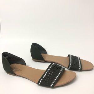 Madeline Stuart Green Sandals